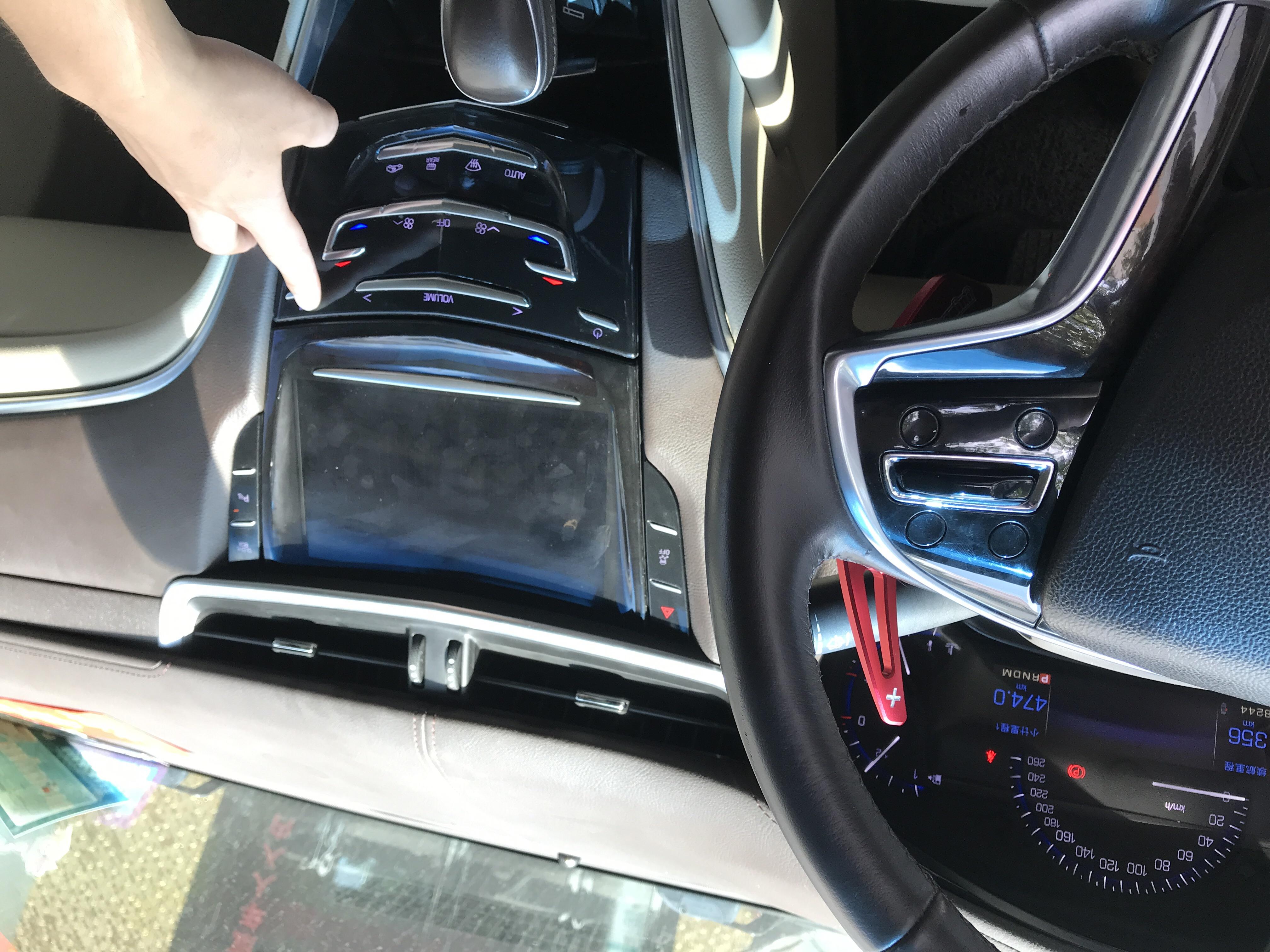 上汽通用-凯迪拉克XTS 中控液晶屏长年黑屏,音箱导航等功能不能使用