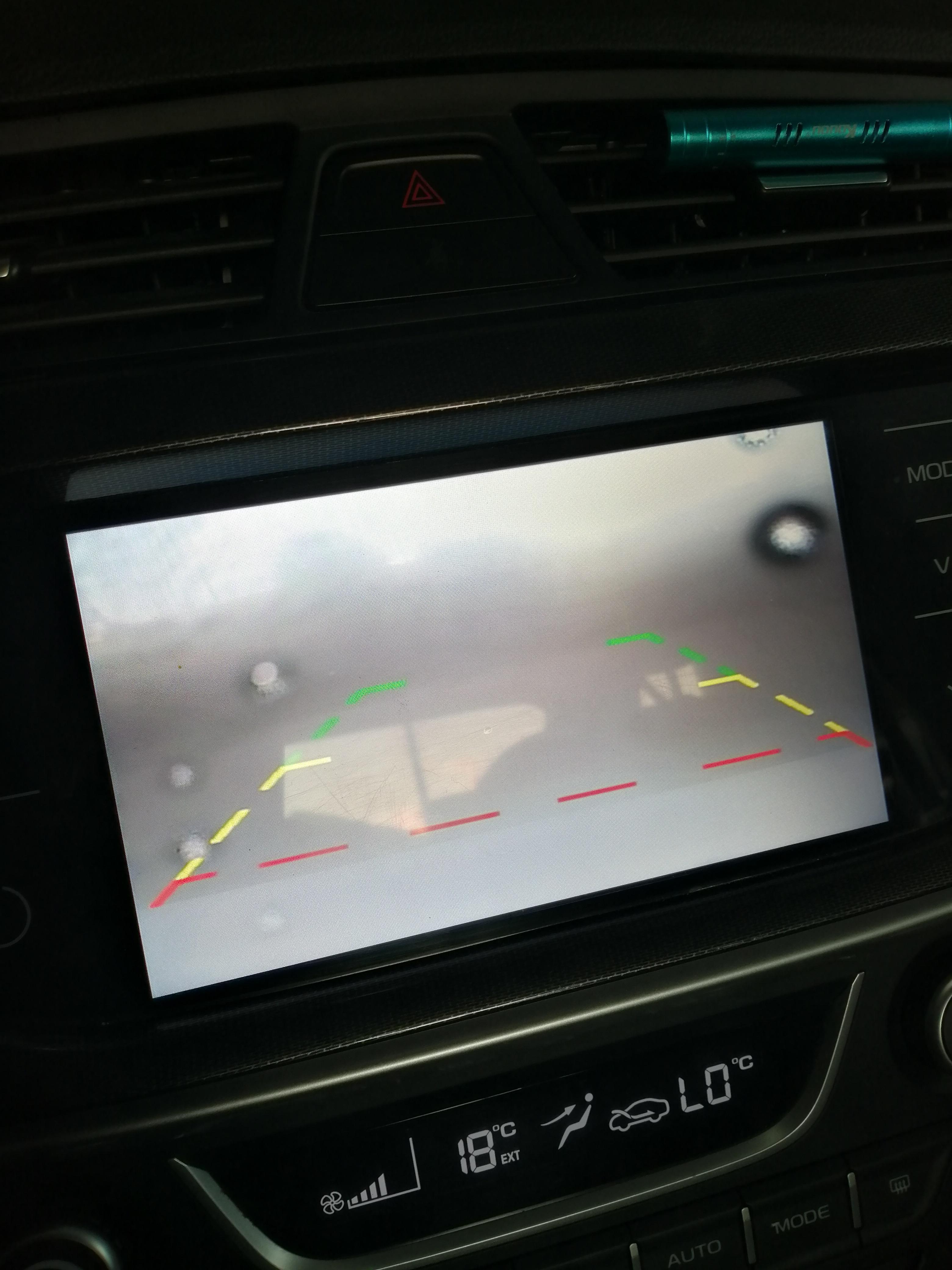 吉利汽车-帝豪 后视镜镜片抖动,倒车影像摄像头进水