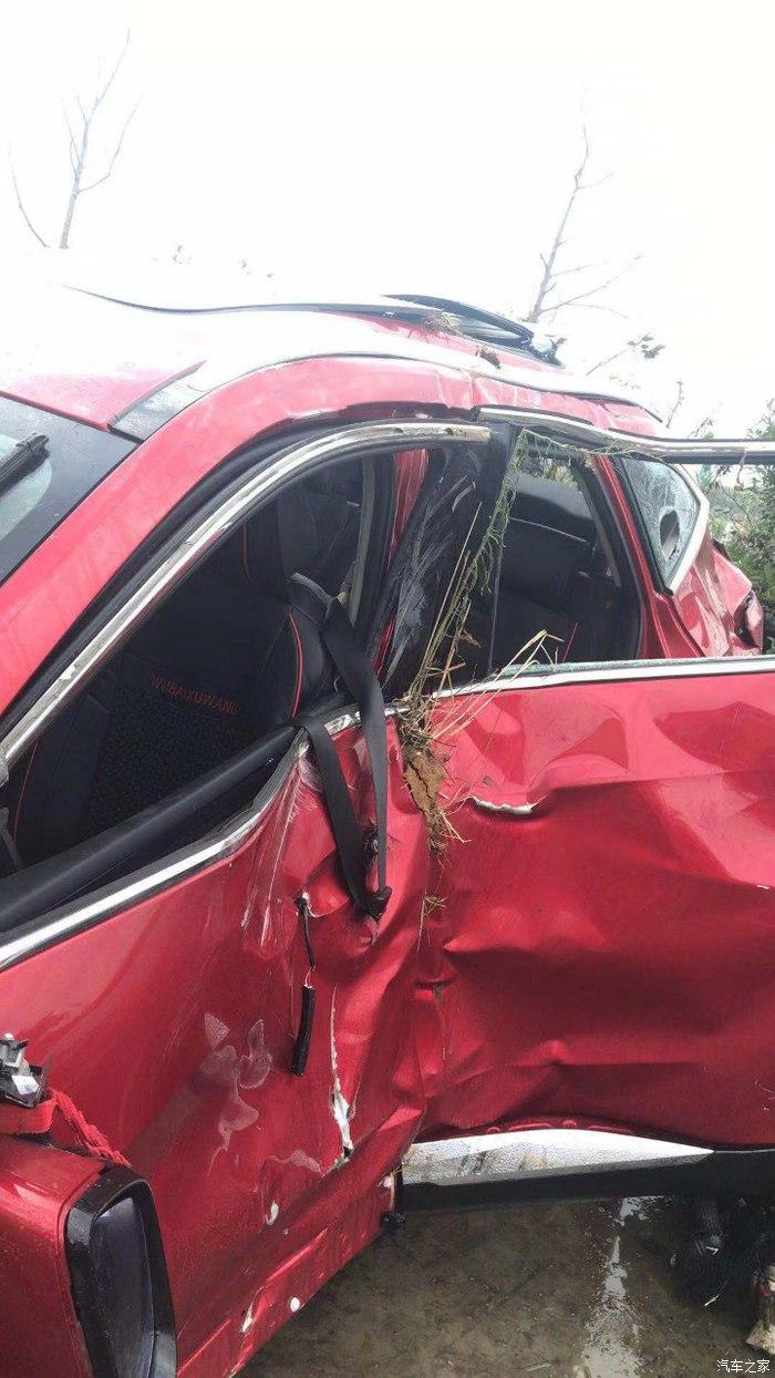 长城汽车-哈弗F7 交通事故气囊未弹开,厂家称车辆无任何质量问题