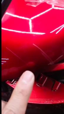 马自达-阿特兹 新车车漆存在质量问题