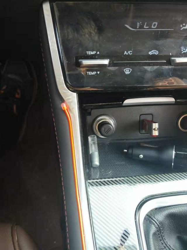 長安汽車-長安CS75   后備箱存在安全隱患,中控儀表再次起泡