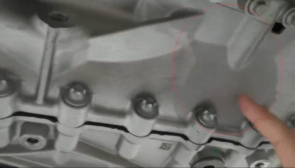 上海汽车-荣威RX5 准备提荣威RX5Max时,发现发动机漏油