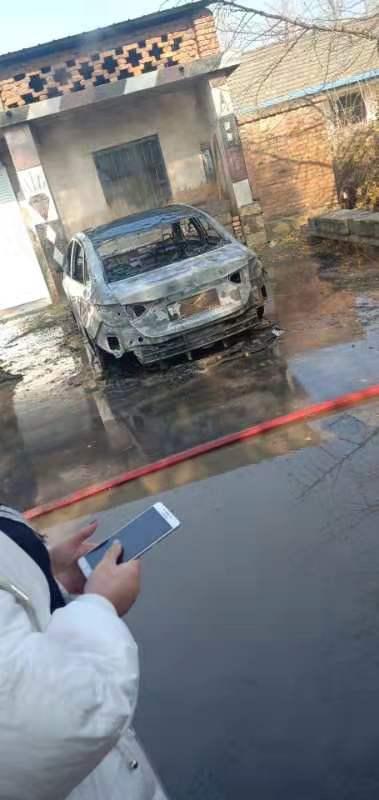 上汽通用-英朗   车辆在毫无预警下自燃