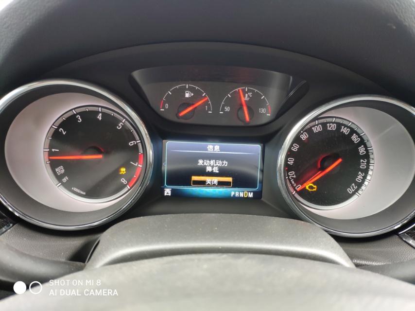 上汽通用-君威 50天的新车出现2次发动机失速