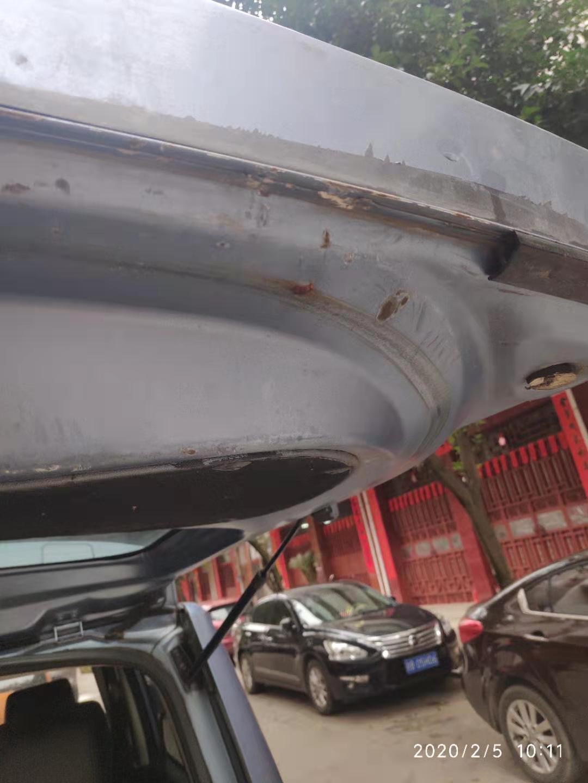 长城99XXXX开心-长城M2 车辆掉漆生锈