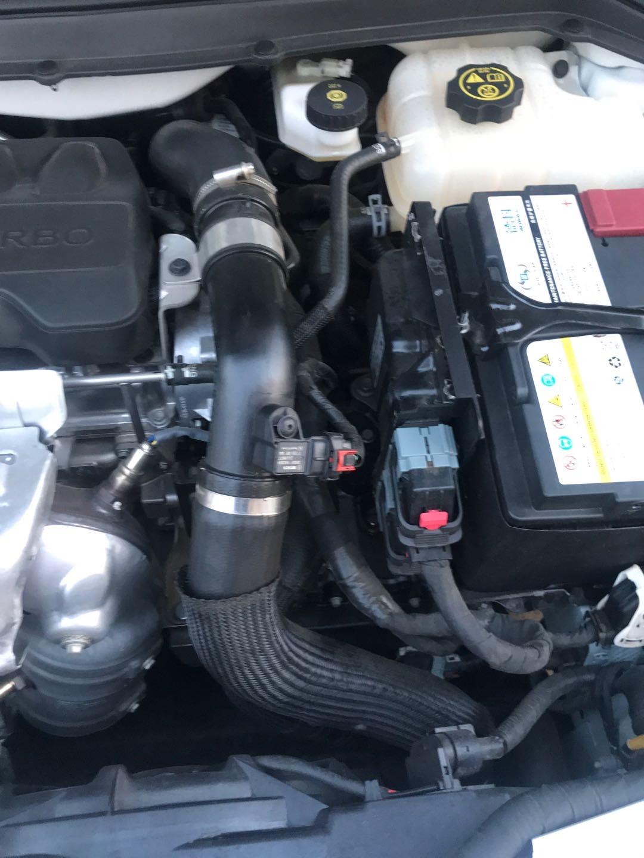 99XXXX开心通用-英朗 水箱冷却器坏了导致漏水,变速箱又漏油