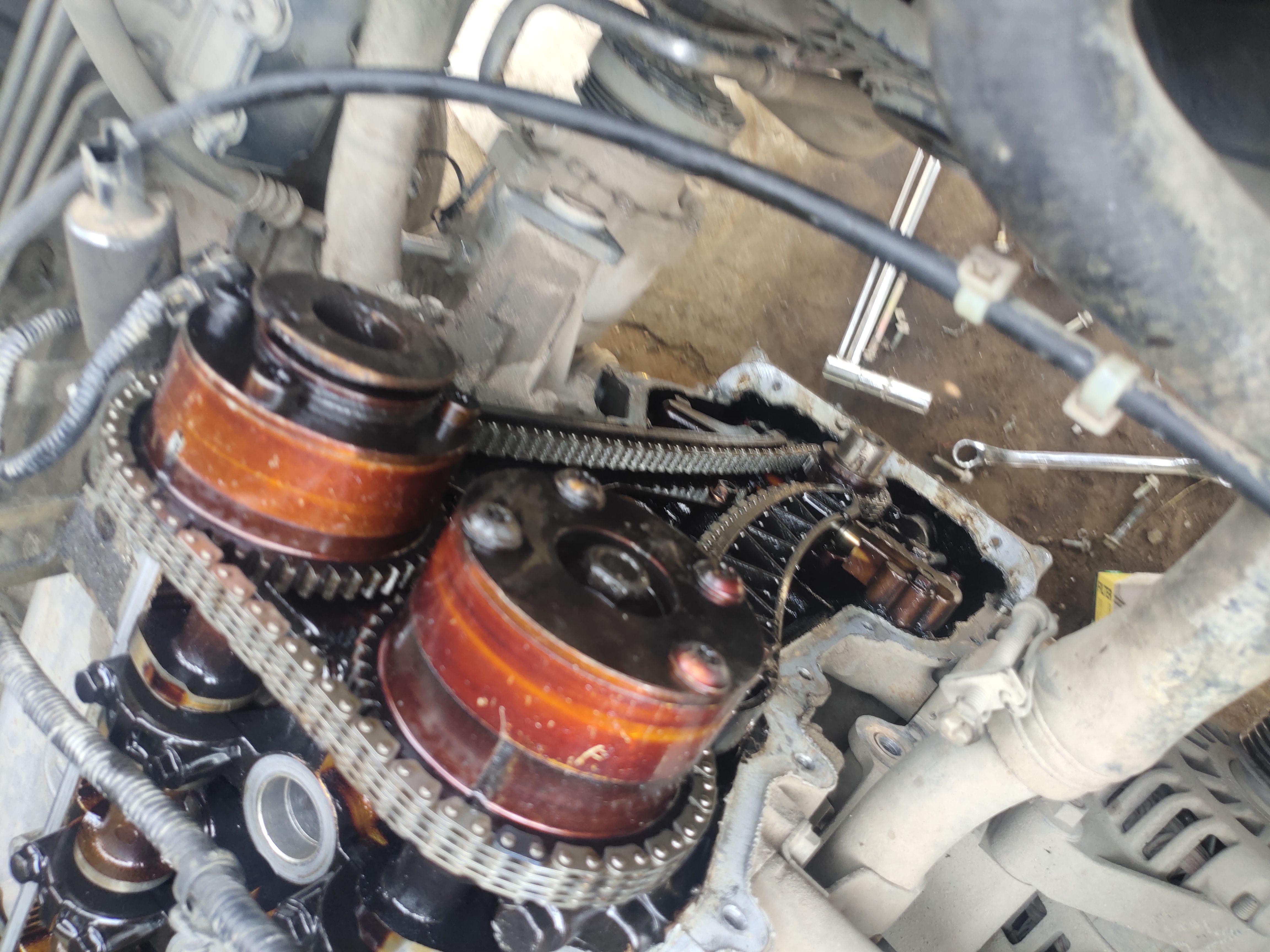 东风小康-东风风光 服务站恶意套路装错正时链条,但是打火延时,油耗高,发动机抖动等发动机内部问题