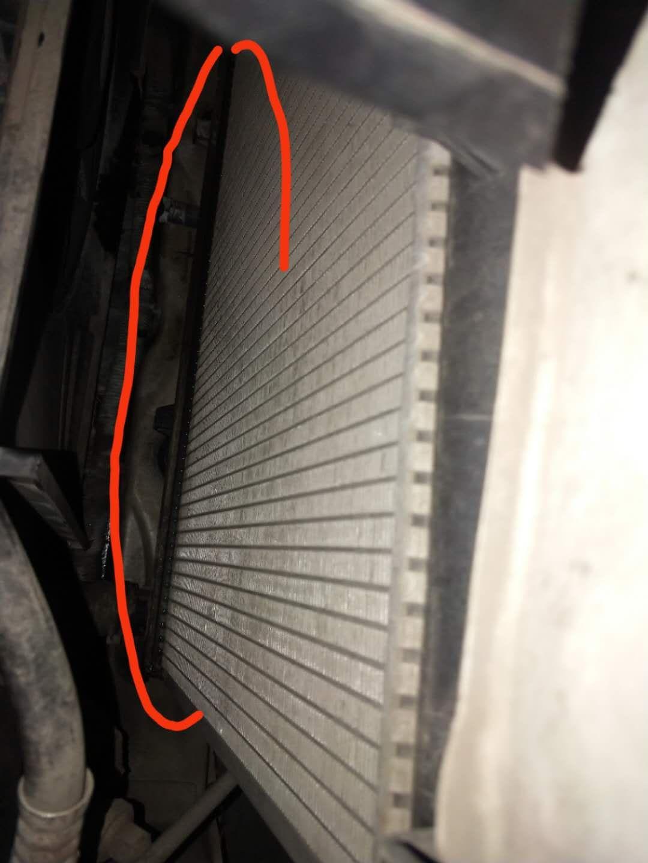 宝骏-宝骏730 水箱漏水,容易导致高温拉缸