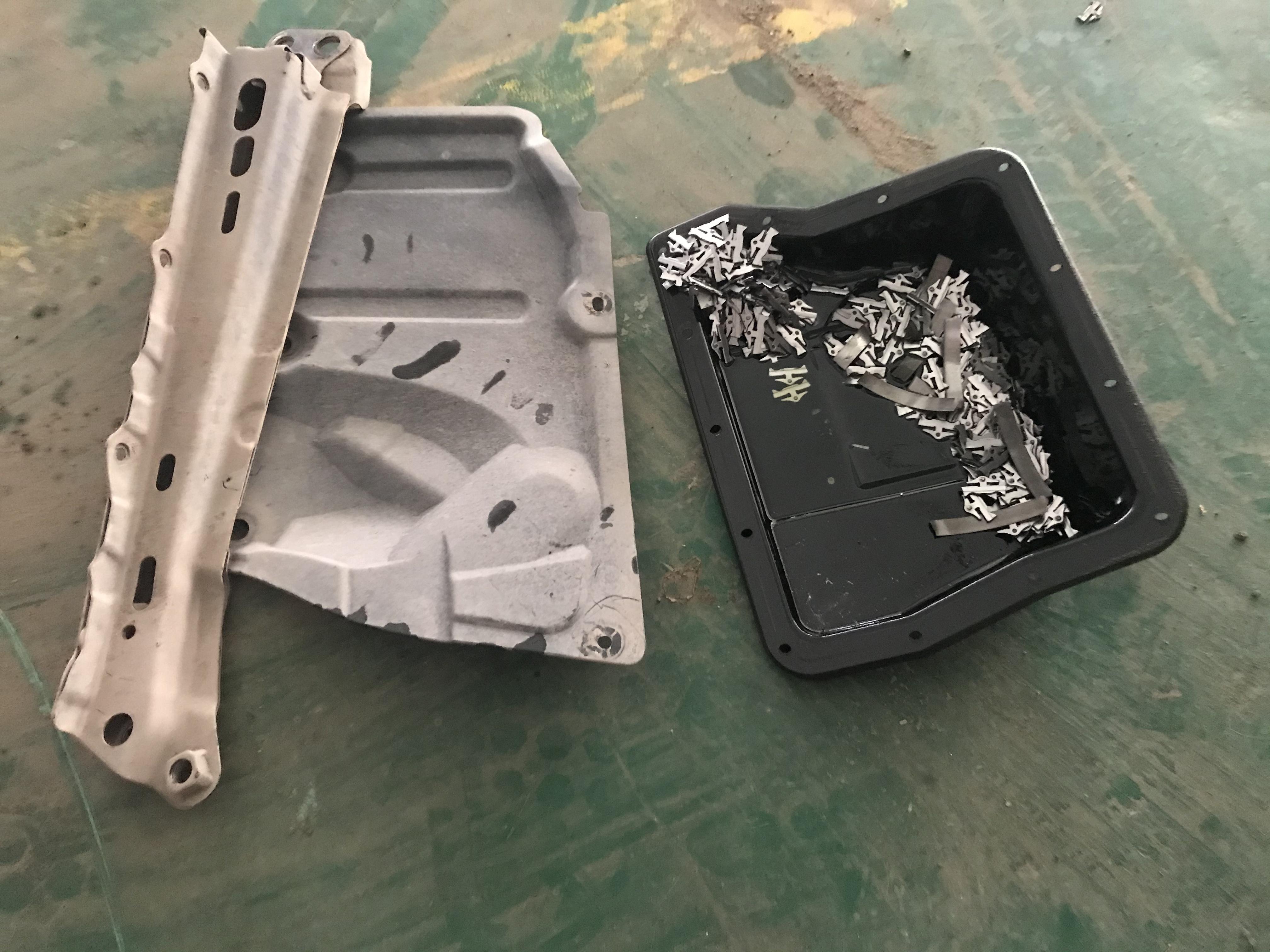众泰-众泰Z500 变速箱钢带断裂