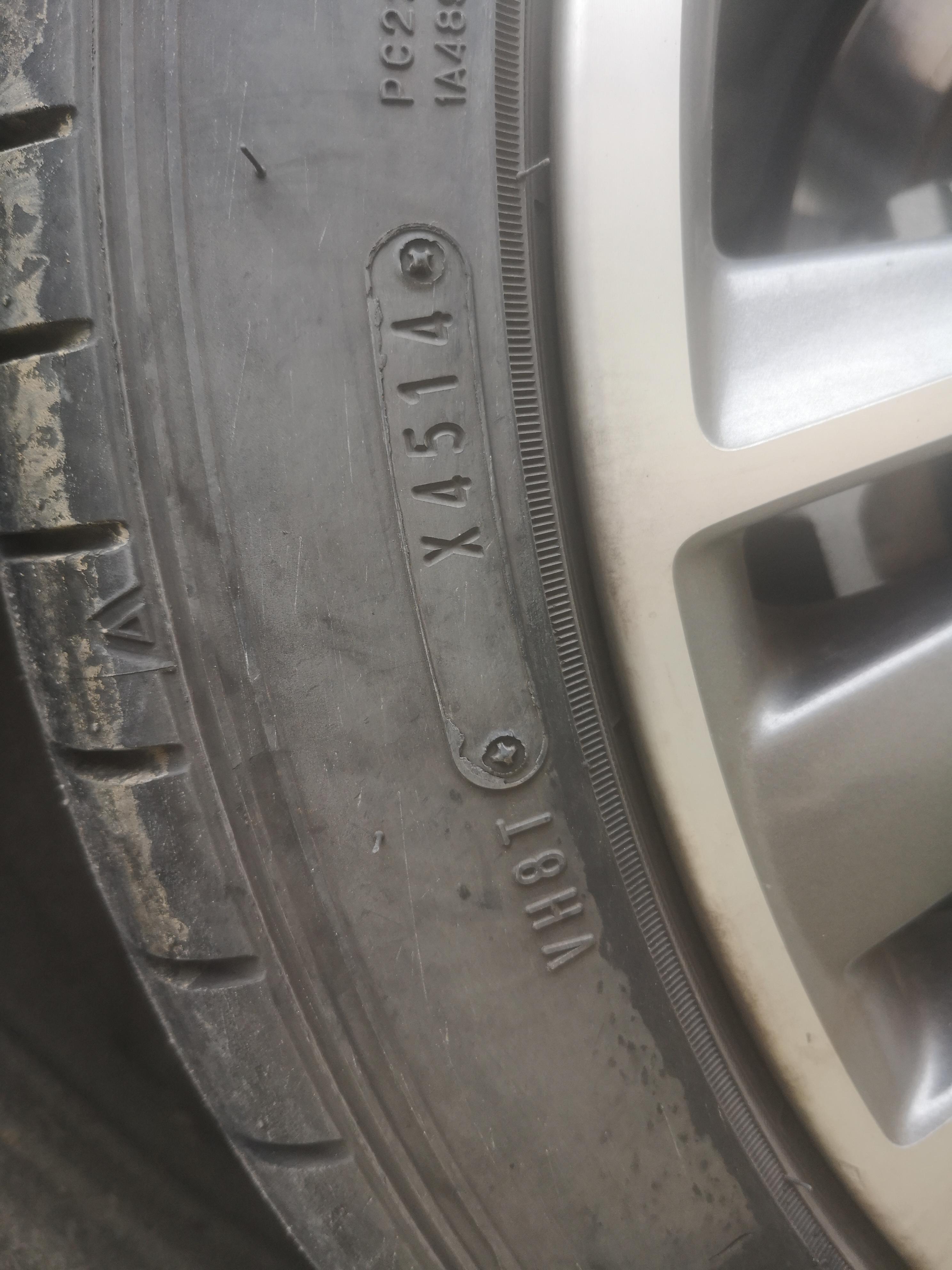 英菲尼迪-英菲尼迪Q50L在安徽偉諾英菲尼迪買的新車車胎配的是三年前的