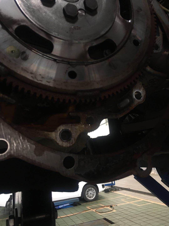 福特-翼搏 正常行驶变速箱无故进水生锈