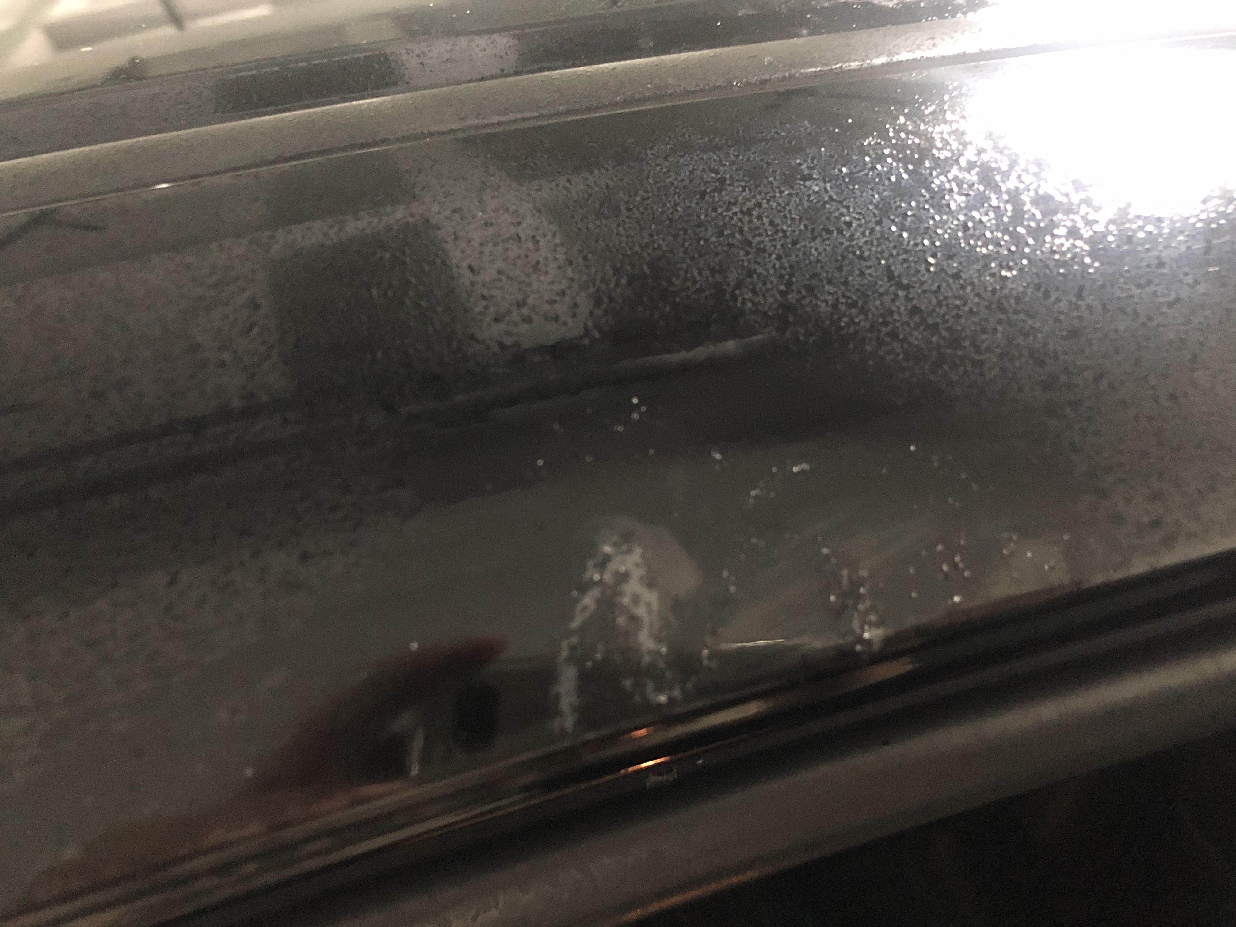 本田-雅阁车身车漆脱落