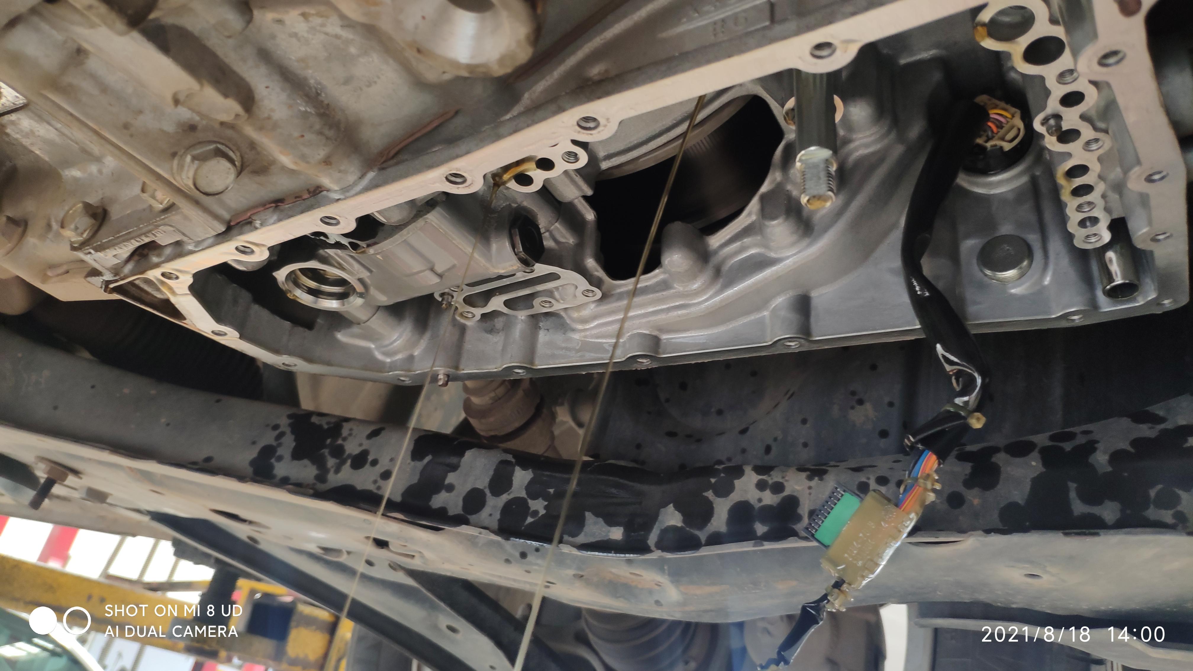 東風日產逍客電磁閥故障,導致車輛需要更換變速箱