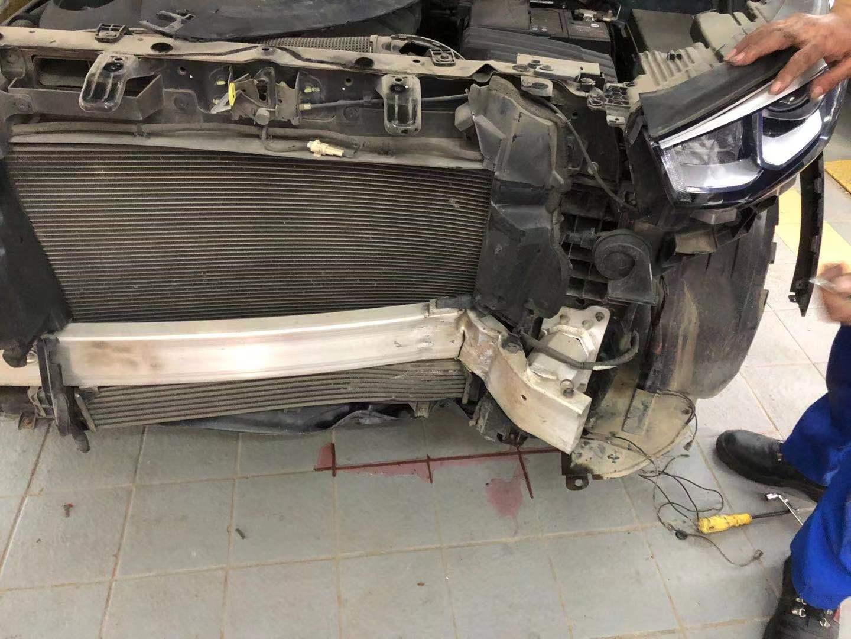 长安汽车CS55车辆出严重事故,但安全气囊因存在质量问题没弹起