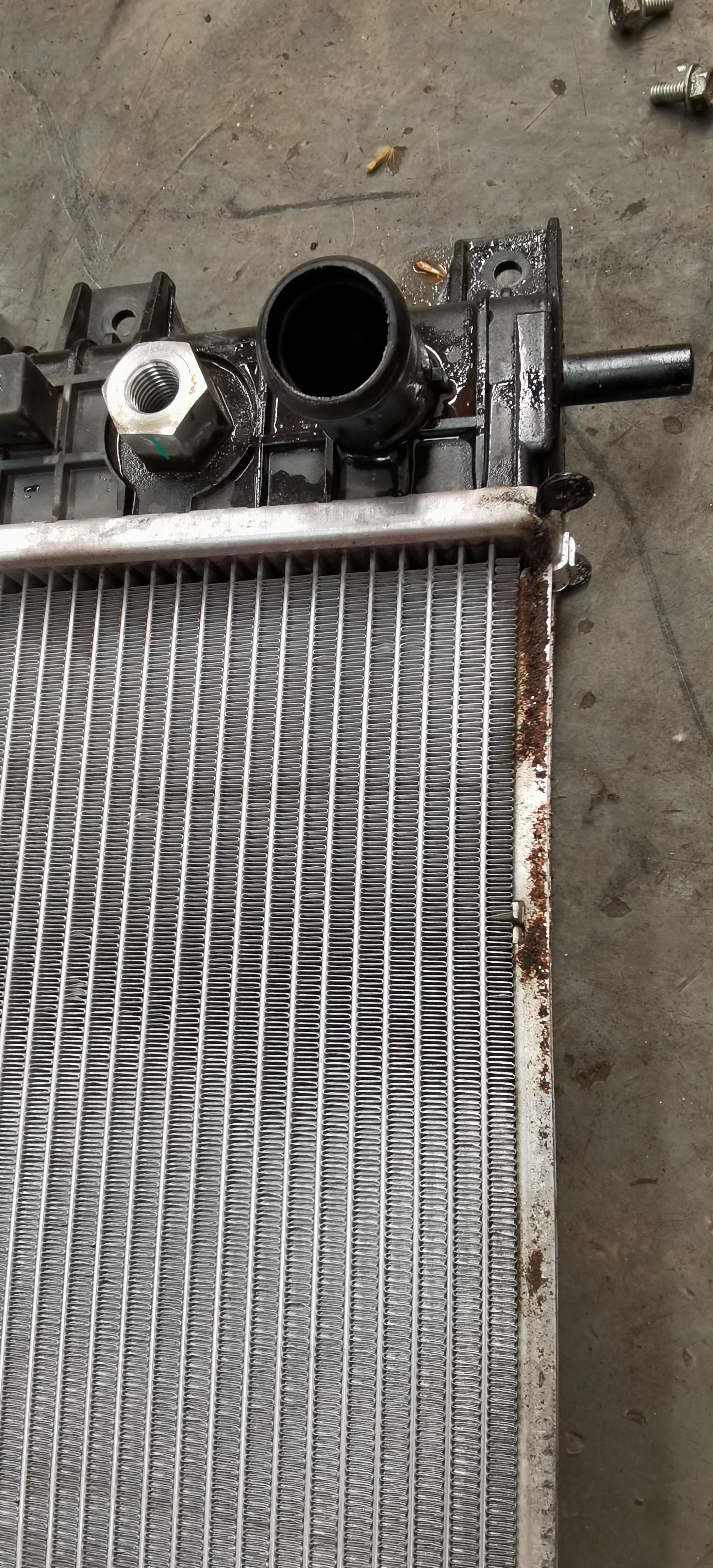 奇瑞汽车-艾瑞泽GX车辆水箱质量差和中控屏不够智能化