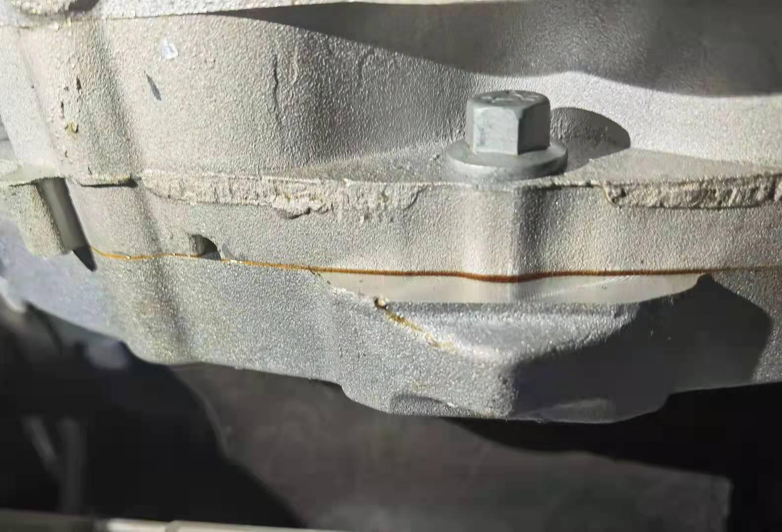 捷豹路虎-XFL新车发动机冷却液漏液和波箱漏油,厂家和4S店经多次维修及更换配件后问题依旧存在