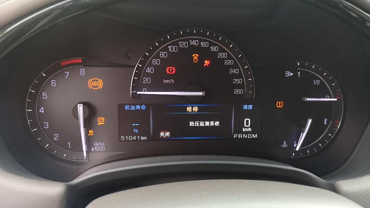 上汽通用凯迪拉克-XTS车辆多处出现故障问题