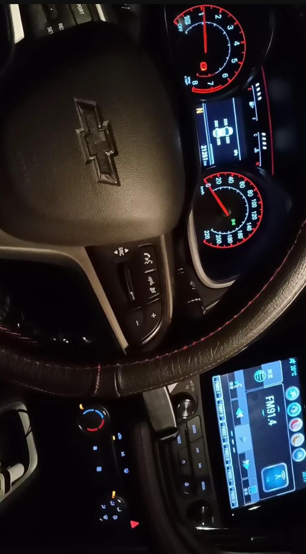 上汽通用雪佛兰-科鲁泽车辆发动机出现异响和抖动严重